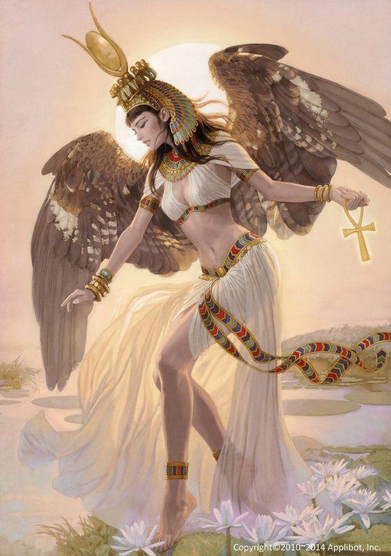 The Goddess Isis Temple Of Athena The Savior