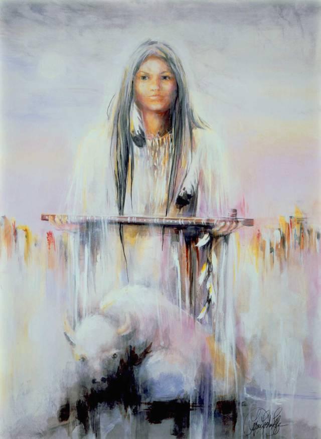 WhiteBuffaloCalfwoman (1)