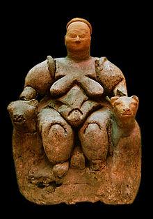 catalhoyuk-goddess-kybele-precuser