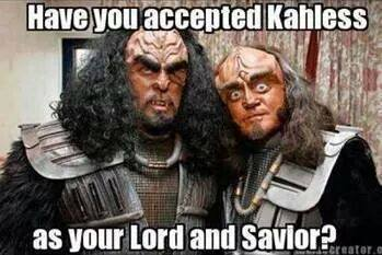 accepted kahless